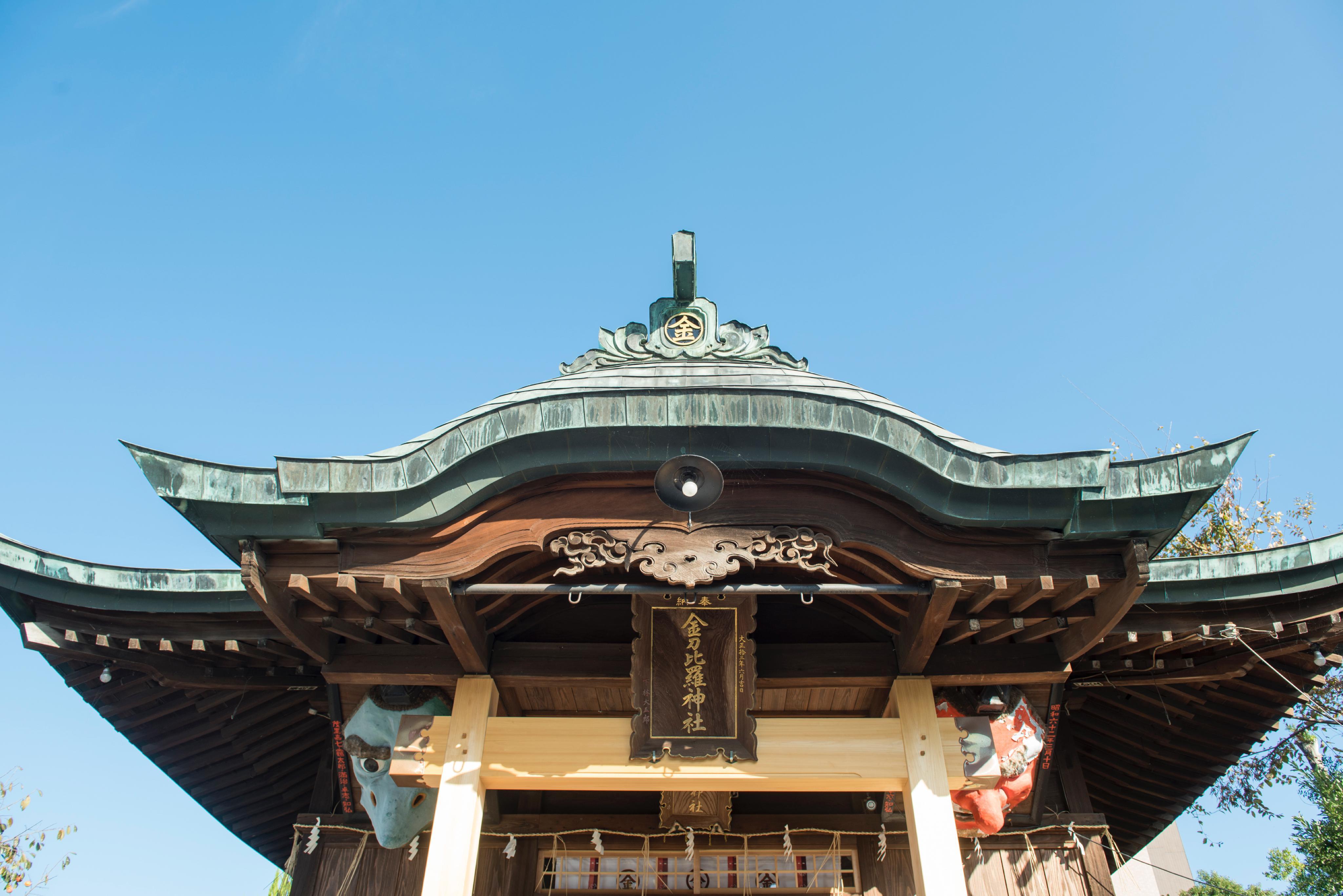 別所琴平神社拝殿